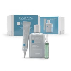 BE HAIR Be Curativa Kit Trattamento Controllo Forfora e Sebo