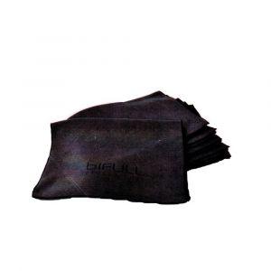 BiFULL Asciugamani Nero Micro-Fibra 75x35cm 6 Unità