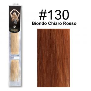 SOCAP Extension Basic Light 50/55cm 25 Ciocche 130 Biondo Chiaro Rosso