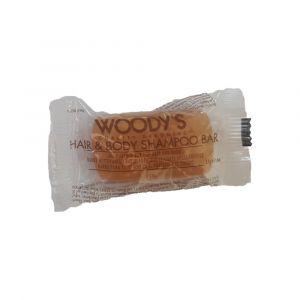 WOODY'S Hair & Body Shampoo Bar 17gr