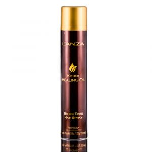 L'ANZA Keratin Healing Oil Brush Thru Hair Spray 350 ml