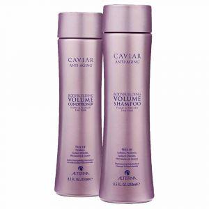 ALTERNA CAVIAR Kit Anti-Aging Bodybuilding Volume Conditioner 250ml + Shampoo 250ml