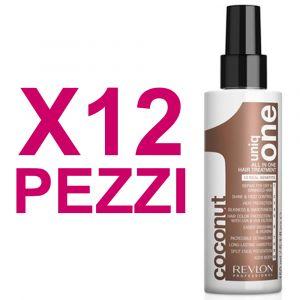UNIQ ONE Kit All In One Hair Treatment Coconut 12 Pezzi x 150ml