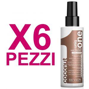 UNIQ ONE Kit All In One Hair Treatment Coconut 6 Pezzi x 150ml