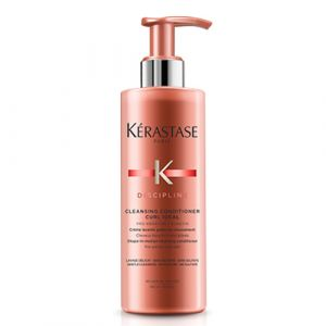Kerastase Discipline Cleansing Conditioner Curl Ideal 400ml Shampoo e Balsamo 2 in 1 Capelli Ricci