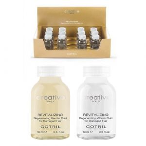 Cotril Creative Walk Revitalizing Regenerating Fluid for Damaged Hair 12x20ml