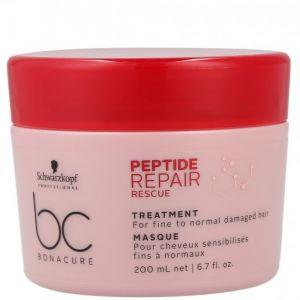 SCHWARZKOPF BC Bonacure Peptide Repair Rescue Masque 200ml