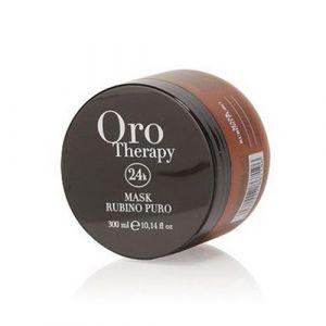Fanola Oro Therapy Rubino Puro Maschera Cheratinica 300ml