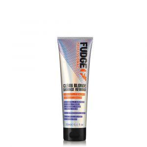 FUDGE Clean Blonde Damage Rewind Violet-Toning Conditioner 250ml