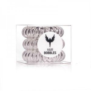 HH SIMONSEN HAIR BOBBLES CLEAR ELASTICO PER CAPELLI - 3 PZ