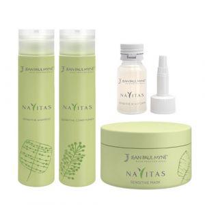 Jean Paul Mynè Navitas Kit Shampoo 250ml Conditioner 250ml Mask 200ml Scalp Care 10x15ml