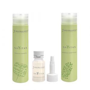 Jean Paul Mynè Navitas Kit Shampoo 250ml Conditioner 250ml Scalp Care 10x15ml
