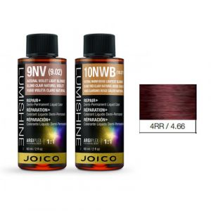 Joico Lumishine 4RR/4.66 Castano Medio Rosso Rosso Demi-Permanent Color 60ml