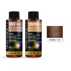 Joico Lumishine 7NWB/7.07 Biondo Medio Beige Caldo Naturale Demi-Permanent Color 60ml