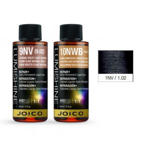 Joico Lumishine 1NV/1.02 Nero Viola Naturale Demi-Permanent Color 60ml