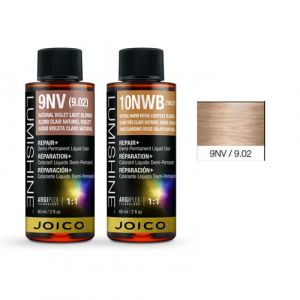 Joico Lumishine 9NV/9.02 Biondo Viola Chiaro Naturale Demi-Permanent Color 60ml
