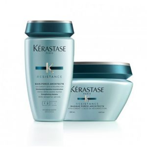 Kerastase Résistance Rituel Bain Force Architecte + Masque  Force Architecte