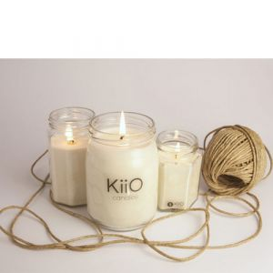 KiiO Aromatic Light Jar Large Mandorla & Macadamia 300g