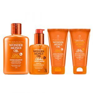 Tecna Beach Monoi Kit Shampoo + Treatment + Cream + Olio