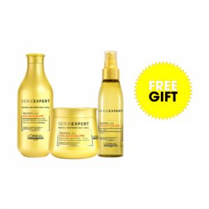 L'Oreal Serie Expert Solar Sublime Mexoryl S.O Kit Shampoo + Maschera + Spray