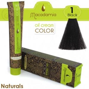Macadamia Oil Cream Color Naturals - 1 Nero 100ml