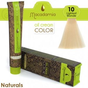Macadamia Oil Cream Color Naturals - 10 Biondo Chiarissimo 100ml