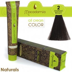 Macadamia Oil Cream Color Naturals - 2 Marrone Scurissimo 100ml
