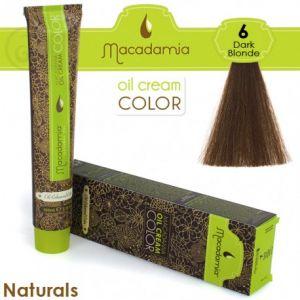 Macadamia Oil Cream Color Naturals - 6 Biondo Scuro 100ml
