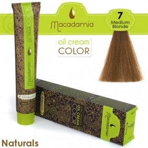 Macadamia Oil Cream Color Naturals - 7 Biondo Medio 100ml