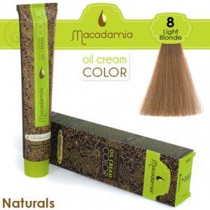 Macadamia Oil Cream Color Naturals - 8 Biondo Chiaro 100ml