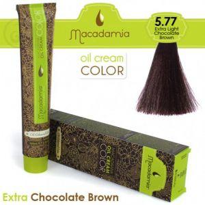 Macadamia Oil Cream Color Extra Chocolate Brown - 5.77 Marrone Cioccolato Extra Leggero 100ml