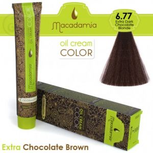 Macadamia Oil Cream Color Extra Chocolate Brown - 6.77 Marrone Cioccolato Scurissimo 100ml