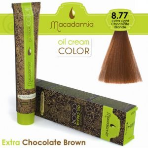 Macadamia Oil Cream Color Extra Chocolate Brown - 8.77 Biondo Cioccolato Extra Leggero 100ml