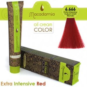 Macadamia Oil Cream Color Extra Intensive Red - 5.666 Biondo Scuro Ramato Extra Intenso 100ml