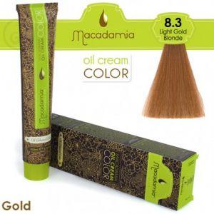 Macadamia Oil Cream Color Gold - 8.3 Biondo Chiaro Dorato 100ml