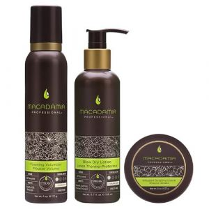 Macadamia Professional - Get The Look Volumizing Set