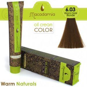 Macadamia Oil Cream Color Warm Naturals - 6.03 Biondo Scuro Caldo 100ml