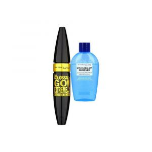 MAYBELLINE NEW YORK Mascara The Colossal Go Extreme! Intense Black + Struccante occhi 25ml