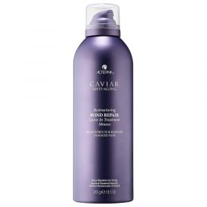 ALTERNA CAVIAR Anti-Aging Restructuring Bond Repair Leave-in Treatment Mousse 241ml