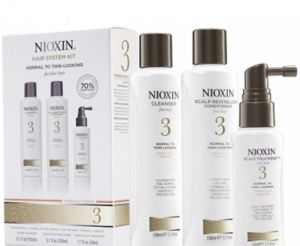Nioxin Sistema 3 <br>Trial Kit <br> 150 ml + 150 ml + 50 ml