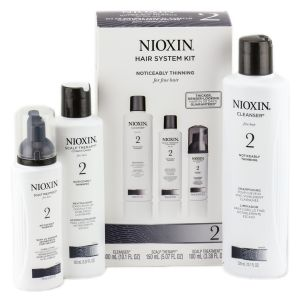 Nioxin Sistema 2 Trial Kit Shampoo 150ml + Balsamo 150ml + Cura per capelli 40ml