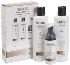 Nioxin Sistema 4 <br> Trial Kit <br>150 ml + 150 ml + 40 ml