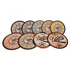 BARBERS Orologio Rotondo Con Logo Vari Colori