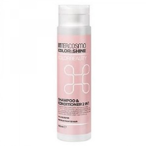 INTERCOSMO Color & Shine Colorbeauty Shampoo & Conditioner 2 in 1 300ml