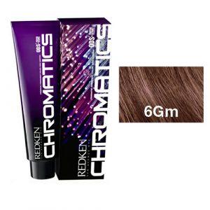 Redken Chromatics - 6Gm Gold Mocha - Permanent Hair Color 63ml