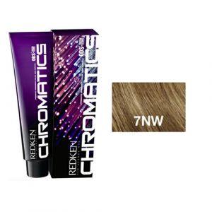 Redken Chromatics - 7NW Natural Warm - Permanent Hair Color 63ml