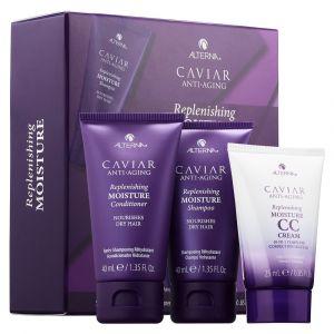 ALTERNA CAVIAR Anti-Aging Replenishing Moisture Trial Kit