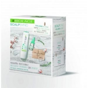 Biolage Scalpsync Trattamento Anticaduta Aminexil 20X6 ml + Volumebloom Shampoo 250 ml