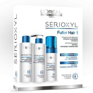 L'oreal Professionnel Serioxyl Fuller Hair Kit 1 Capelli Naturali e Diradati