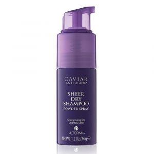 ALTERNA CAVIAR Anti-Aging Sheer Dry Shampoo Powder Spray 34g